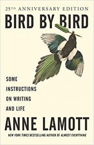 An image of the book cover for Anne Lamott's Bird by Bird