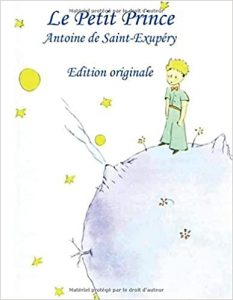 An image of the book cover for Antoine de Saint-Exupéry's Le petit prince