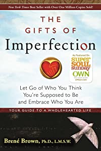 An image of the book cover for Brené Brown's The Gifts of Imperfection