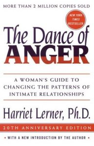 An image of the book cover for Harriet Lerner's The Dance of Anger
