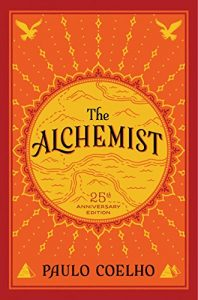 An image of the book cover for Paulo Coelho's The Alchemist